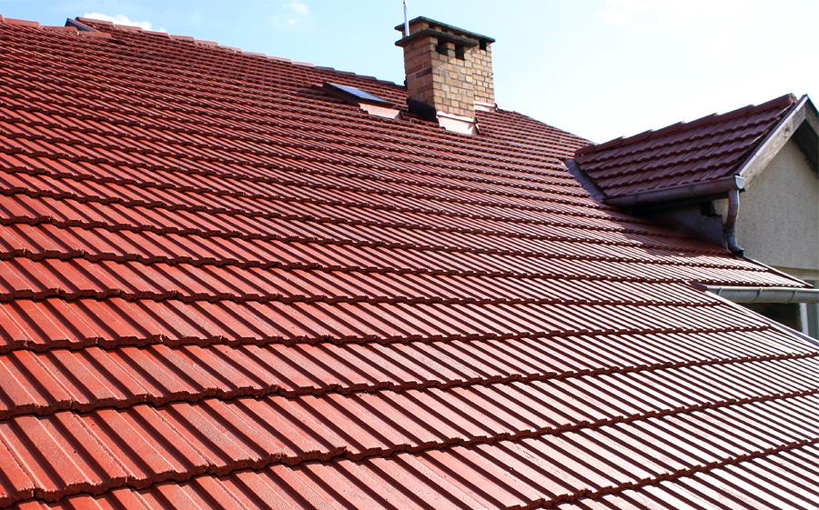 efekt po malowaniu dachu 01