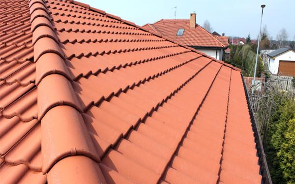 Dach po umyciu przed impregnacją