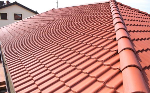 Dach po konserwacji metodą hydrofobową
