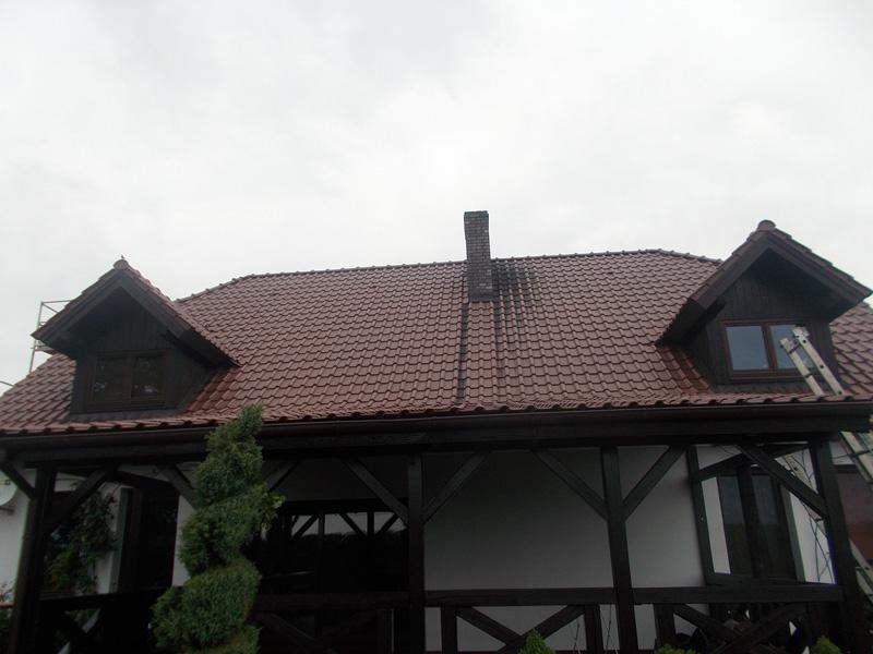 przed umyciem dachu 10