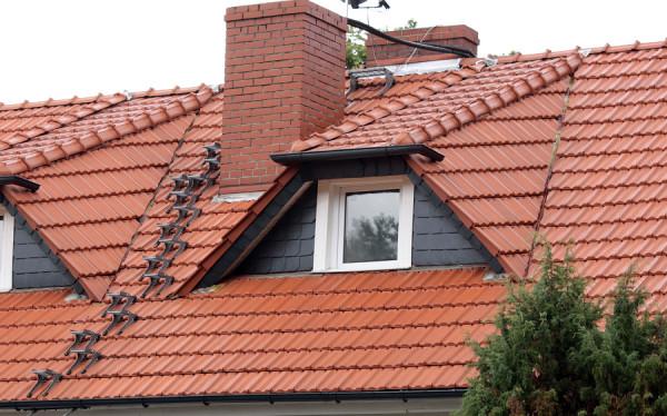 Po oczyszczeniu dachu
