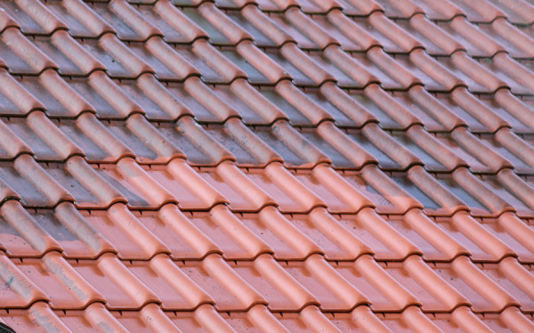 Dachówka ceramiczna - efekt mycia