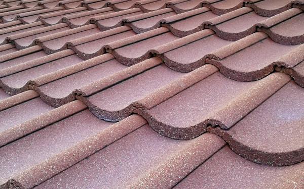 Dachówka betonowa po impregnacji