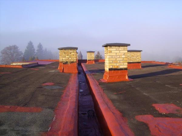 efekt uszczelniania dachu płaskiego 02