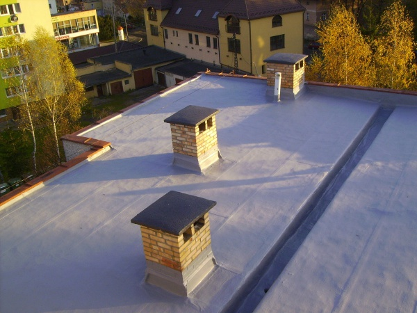 efekt uszczelniania dachu płaskiego 01